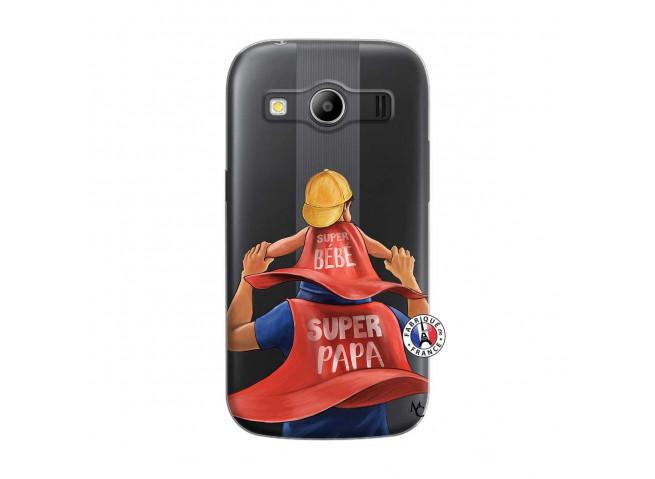 Coque Samsung Galaxy ACE 4 Super Papa et Super Bébé