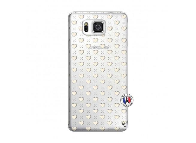 Coque Samsung Galaxy Alpha Little Hearts