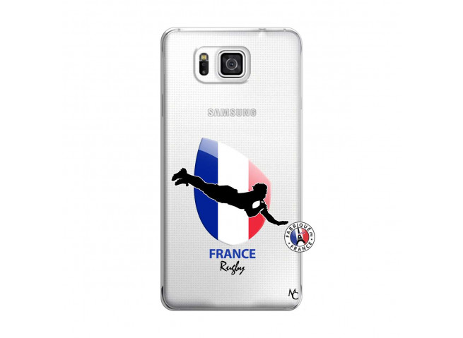Coque Samsung Galaxy Alpha Coupe du Monde de Rugby-France
