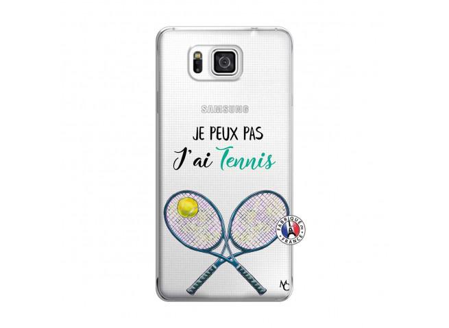 Coque Samsung Galaxy Alpha Je Peux Pas J Ai Tennis