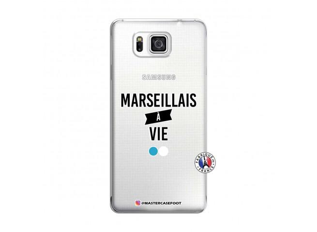 Coque Samsung Galaxy Alpha Marseillais à Vie