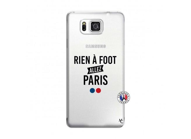 Coque Samsung Galaxy Alpha Rien A Foot Allez Paris
