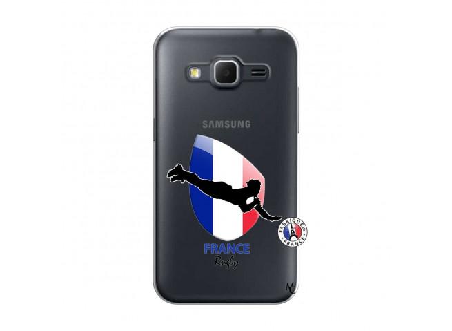 Coque Samsung Galaxy Core Prime Coupe du Monde de Rugby-France