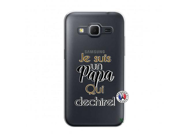 Coque Samsung Galaxy Core Prime Je Suis Un Papa Qui Dechire