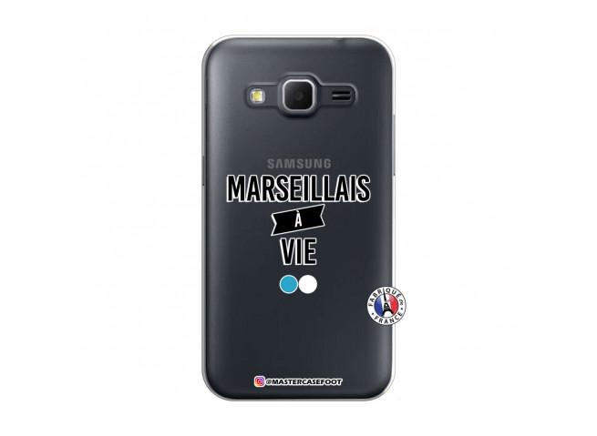 Coque Samsung Galaxy Core Prime Marseillais à Vie