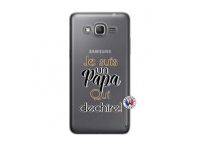 Coque Samsung Galaxy Grand Prime Je Suis Un Papa Qui Dechire