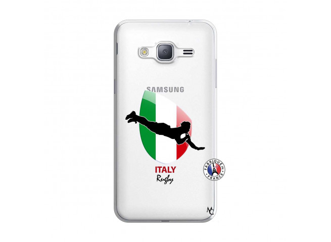 Coque Samsung Galaxy J3 2016 Coupe du Monde Rugby-Italy