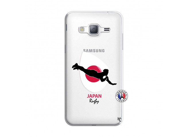 Coque Samsung Galaxy J3 2016 Coupe du Monde Rugby-Japan