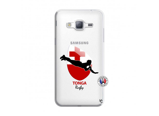 Coque Samsung Galaxy J3 2016 Coupe du Monde Rugby-Tonga