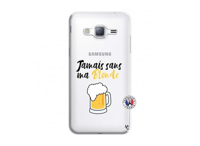 Coque Samsung Galaxy J3 2016 Jamais Sans Ma Blonde