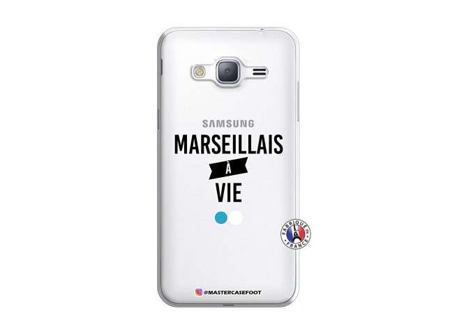 Coque Samsung Galaxy J3 2016 Marseillais à Vie