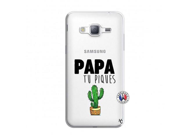 Coque Samsung Galaxy J3 2016 Papa Tu Piques