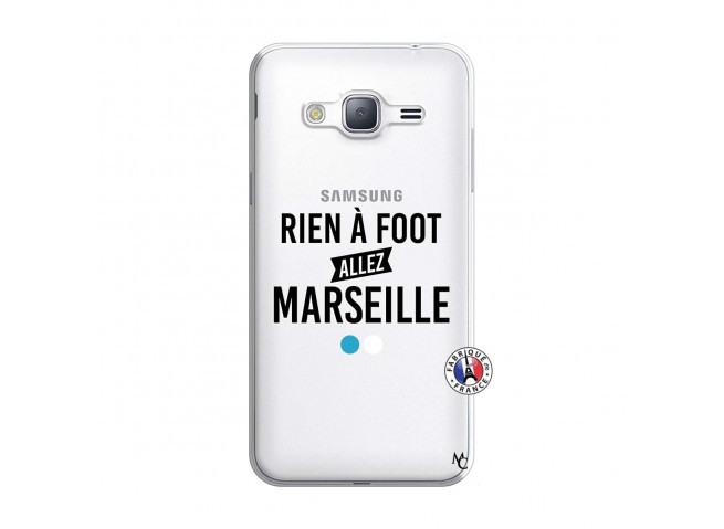 Coque Samsung Galaxy J3 2016 Rien A Foot Allez Marseille