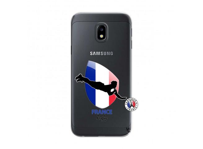 Coque Samsung Galaxy J3 2017 Coupe du Monde de Rugby-France