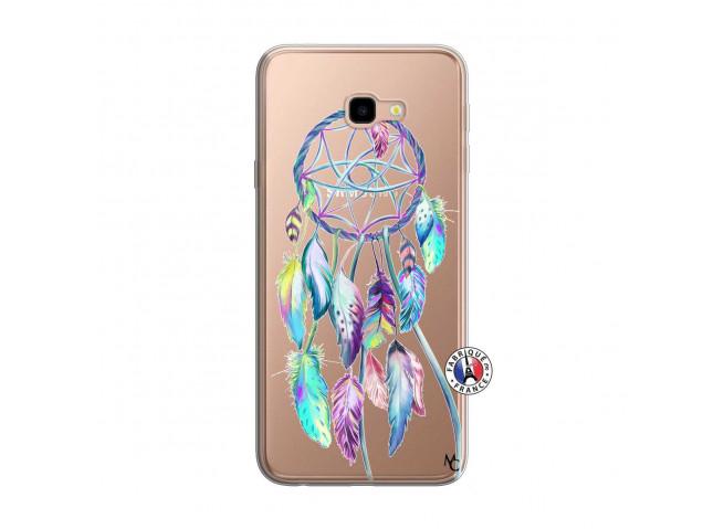 Coque Samsung Galaxy J4 Plus Blue Painted Dreamcatcher
