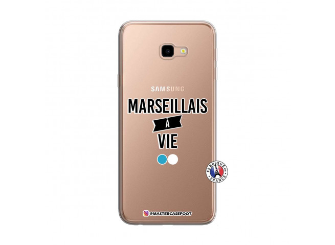 Coque Samsung Galaxy J4 Plus Marseillais à Vie