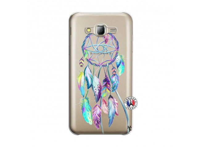 Coque Samsung Galaxy J5 2015 Blue Painted Dreamcatcher