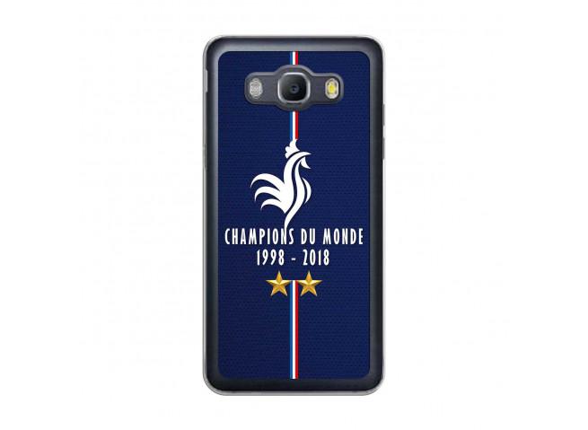 Coque Samsung Galaxy J5 2016 Champions Du Monde 1998 2018 Transparente