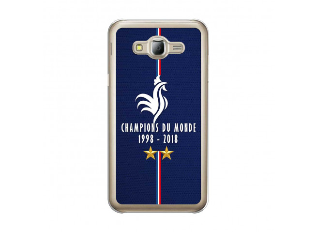 Coque Samsung Galaxy J5 Champions Du Monde 1998 2018 Transparente