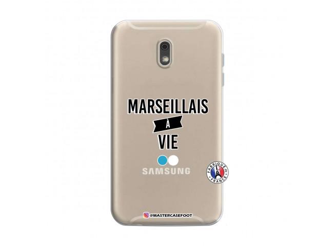 Coque Samsung Galaxy J6 2018 Marseillais à Vie