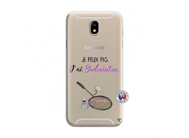 Coque Samsung Galaxy J7 2015 Je Peux Pas J Ai Badminton