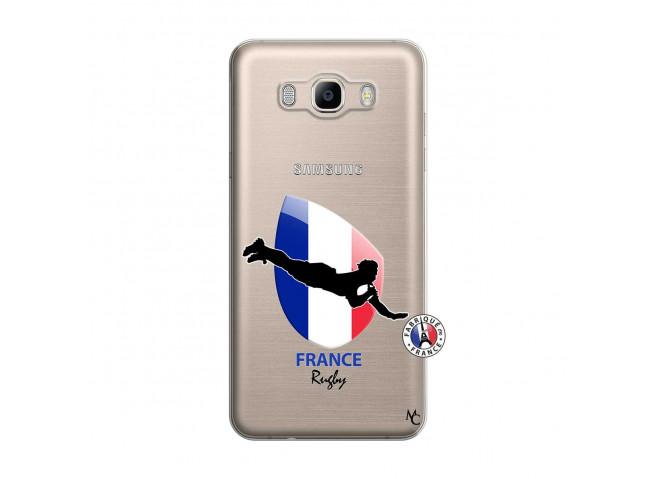 Coque Samsung Galaxy J7 2016 Coupe du Monde de Rugby-France