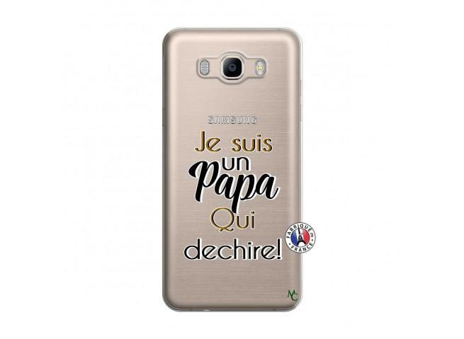 Coque Samsung Galaxy J7 2016 Je Suis Un Papa Qui Dechire
