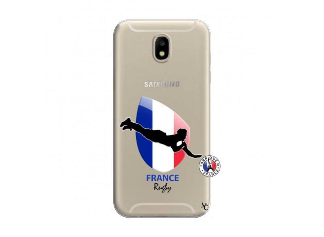 Coque Samsung Galaxy J7 2017 Coupe du Monde de Rugby-France