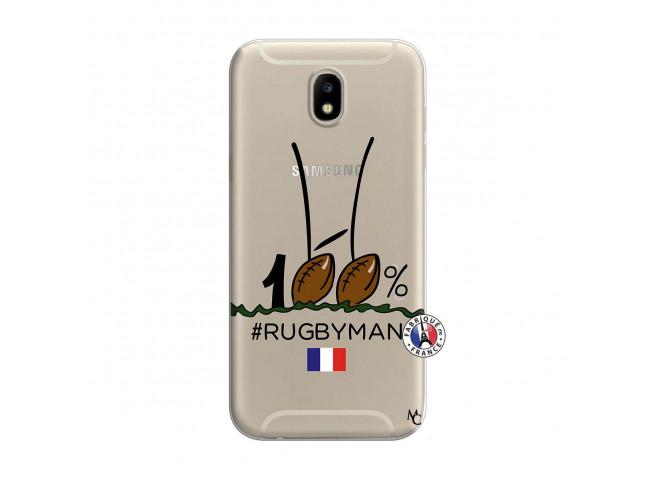 Coque Samsung Galaxy J7 2017 100 % Rugbyman Entre les Poteaux