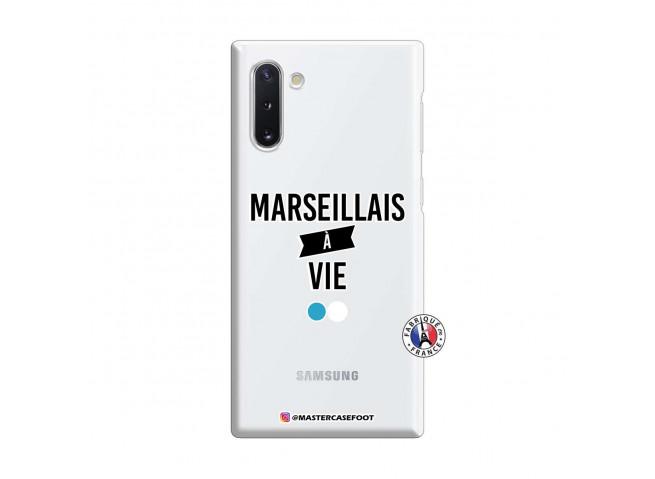 Coque Samsung Galaxy Note 10 Marseillais à Vie