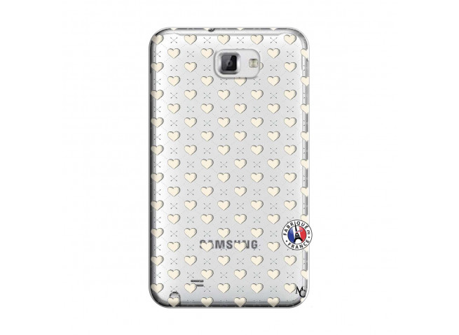 Coque Samsung Galaxy Note 1 Little Hearts