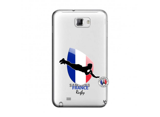 Coque Samsung Galaxy Note 1 Coupe du Monde de Rugby-France