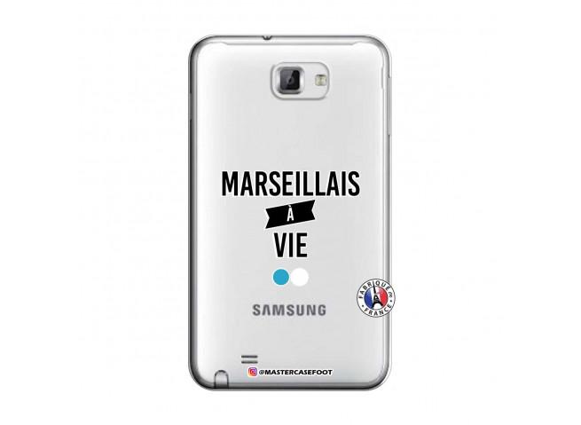 Coque Samsung Galaxy Note 1 Marseillais à Vie