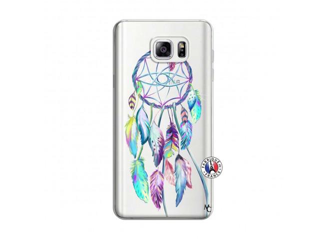 Coque Samsung Galaxy Note 3 Lite Blue Painted Dreamcatcher