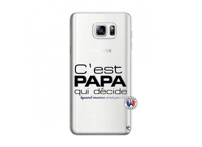 Coque Samsung Galaxy Note 3 Lite C'est Papa Qui Décide Quand Maman n'est pas là