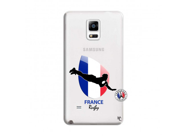 Coque Samsung Galaxy Note 4 Coupe du Monde de Rugby-France