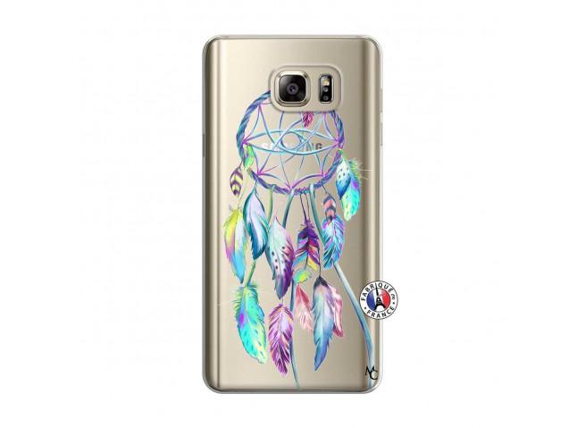 Coque Samsung Galaxy Note 5 Blue Painted Dreamcatcher