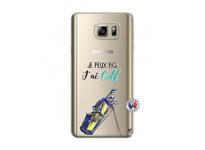 Coque Samsung Galaxy Note 5 Je Peux Pas J Ai Golf
