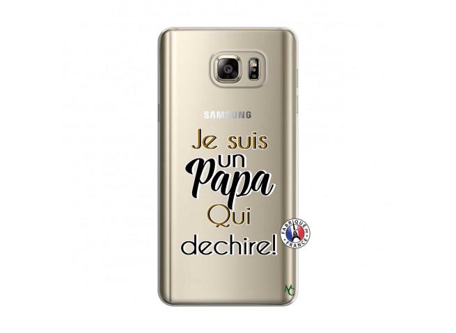Coque Samsung Galaxy Note 5 Je Suis Un Papa Qui Dechire