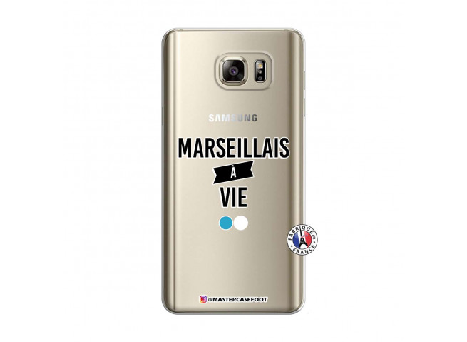 Coque Samsung Galaxy Note 5 Marseillais à Vie