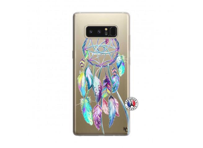 Coque Samsung Galaxy Note 8 Blue Painted Dreamcatcher