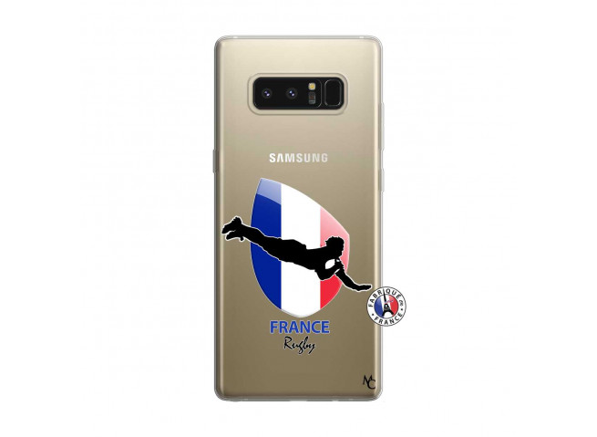 Coque Samsung Galaxy Note 8 Coupe du Monde de Rugby-France
