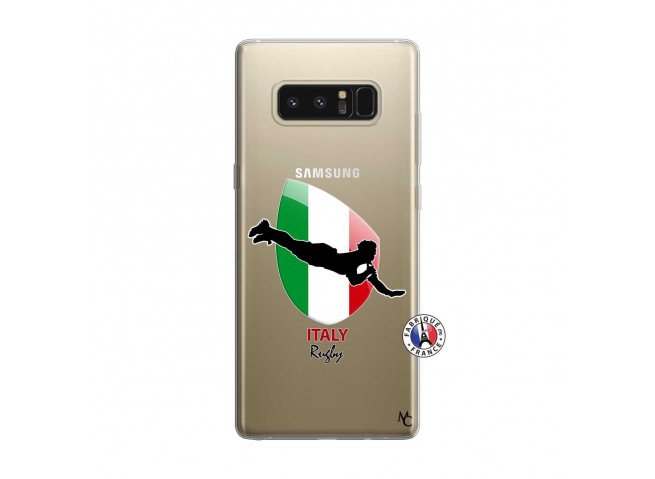 Coque Samsung Galaxy Note 8 Coupe du Monde Rugby-Italy