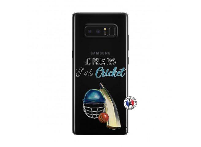 Coque Samsung Galaxy Note 8 Je peux pas j'ai cricket