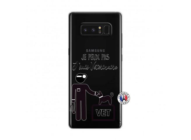 Coque Samsung Galaxy Note 8 Je Peux Pas Je Suis Veterinaire