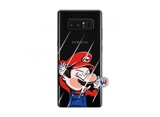 Coque Samsung Galaxy Note 8 Mario Impact