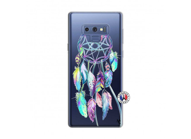 Coque Samsung Galaxy Note 9 Blue Painted Dreamcatcher