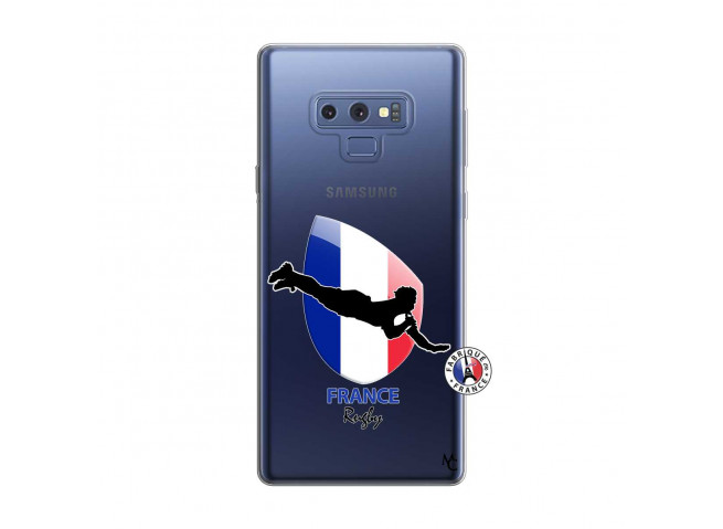 Coque Samsung Galaxy Note 9 Coupe du Monde de Rugby-France