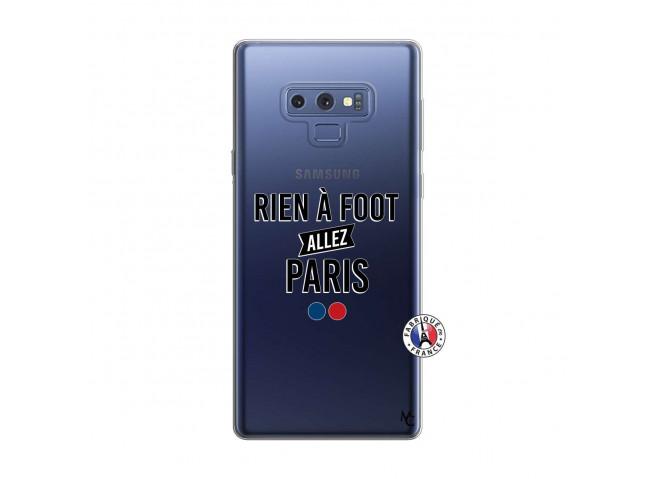 Coque Samsung Galaxy Note 9 Rien A Foot Allez Paris
