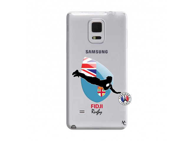 Coque Samsung Galaxy Note Edge Coupe du Monde Rugby Fidji